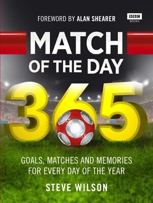 Match of the Day 365 (Hardcover), Wilson, Steve, 9781849909884