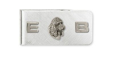 Pbgv Petit Brussels Griffon Vendeen Money Clip Silver Dog Jewelry GV3-MC