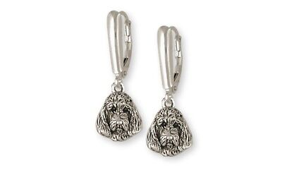 Pbgv Petit Brussels Griffon Vendeen Earrings Silver Dog Jewelry GV5-LB