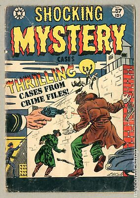 Shocking Mystery Cases (1952) #57 GD- 1.8