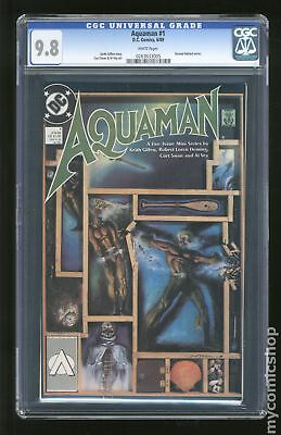 Aquaman (1989 2nd Limited Series) #1 CGC 9.8 0263633005