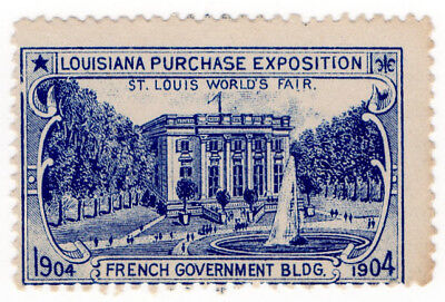 (I.B) US Cinderella : Louisiana Purchase Exposition (French Govt Building)