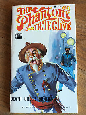 The Phantom Detective - Death Under Contrac - Robert Wallace Corinth Books No.21