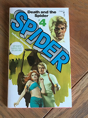 Death and the Spider (No.4) by Grant Stockbridge - 1975 Pocket Books