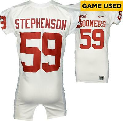 Game Used Donald Stephenson Oklahoma Jersey Fanatics Authentic COA Item#6576596