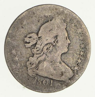 1801 Draped Bust Half Dime- Circulated *2126