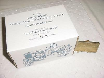 Two Cylinder Center Grand Opening Special Edition GPWT Ser Number 1607 of  2000