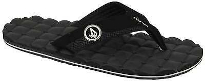 Volcom Recliner Sandal - Black / White - New