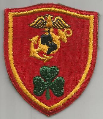 WW 2 USMC Londonderry Barracks Patch Inv# H910