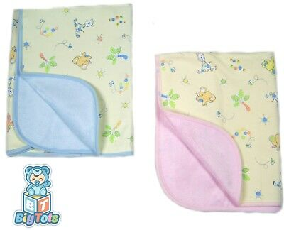 Adult Baby BLUE Jungle Animals  LARGE diaper changing pad waterproof Big Tots