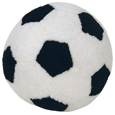 TY Pluffies - SOCCER BALL (4.5 inch) - MWMTs Stuffed Animal Toy