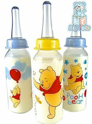 Adult Baby Winnie the Pooh silicone nipple bottle *Big Tots*