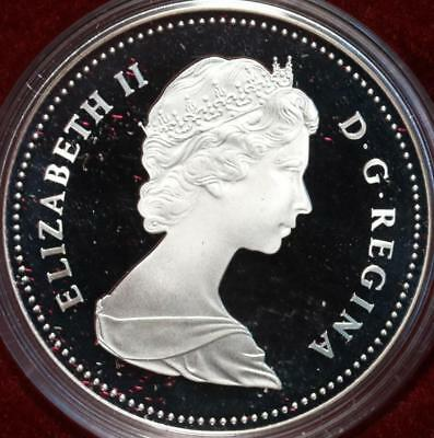 Uncirculated 1982 Silver Canada $1 Dollar Foreign Coin Free S/H