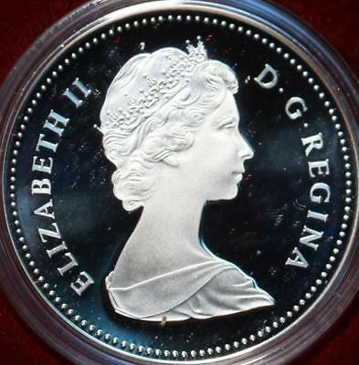 Uncirculated 1983 Silver Canada $1 Dollar Foreign Coin Free S/H