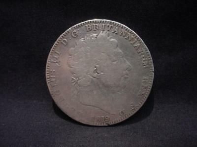 1819 George III Great Britain Silver Crown Coin