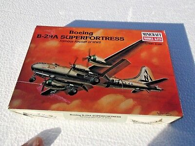 Minicraft Model Kit Boeing B-29A Superfortress 1/144th Scale BRAND NEW