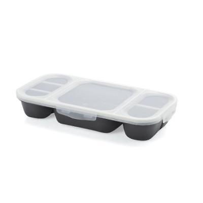 UNBRANDED CUISSON Lunchbox 27x14x4 cm Dining at work - Noir - Plastique