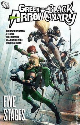 Green Arrow/Black Canary Five Stages TPB (2010) #1-1ST VF