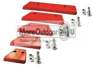 Ardisam Earthquake Earth Auger Power Drill Post Hole Digger Replacement Blades