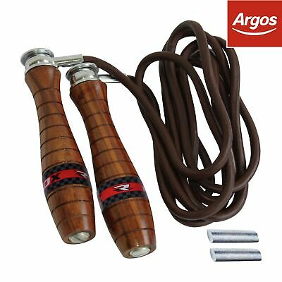 RDX Leather Skipping Rope - Brown. From the Official Argos Shop on ebay