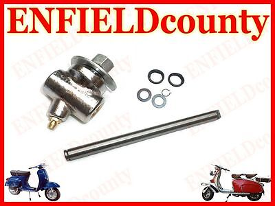 Brand New Vespa Chrome Front Damper Mudguard Fixing Kit Trunnion @cad