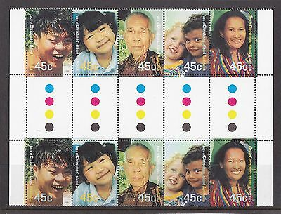 2000 Faces of Christmas Island Gutter Strip MUH