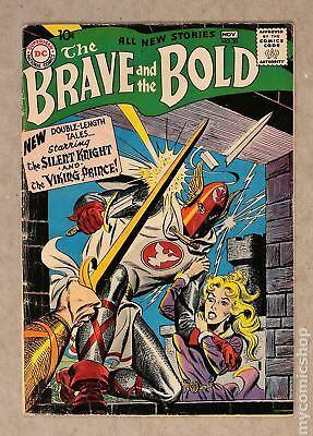 Brave and the Bold (1955 1st Series DC) #20 VG- 3.5