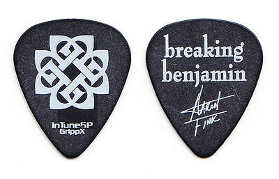 Breaking Benjamin Aaron Fink Signature Black Guitar Pick - 2007 Tour