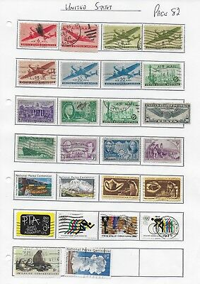 USA  26  used Stamps page 82