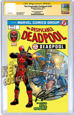 The Despicable Deadpool #278 LENTICULAR variant SIGNED BY ROB LIEFELD + CGC
