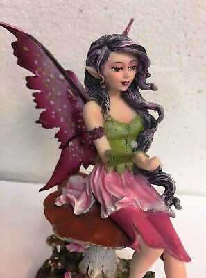 Chamomile Faery.Tea Cup Fairy Statue Figurine.Amy Brown Art Licensed Collection