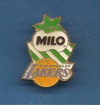 Pin's pin BASKET BALL NBA LAKERS - MILO DE NESTLE (ref 057)