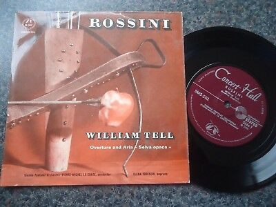 Rossini William Tell Uk Ep 1966 Mint Minus