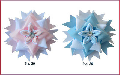 """30 BLESSING Good Girl Boutique Modern Style Dance 4.5/"""" Hair Bow Clip 128 No."""
