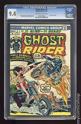 Ghost Rider (1973 1st Series) #3 CGC 9.4 0702580009