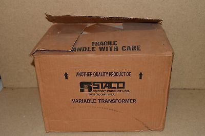 == Staco Energy Products Inc Variable Autotransformer Type 2510 - New (C9)