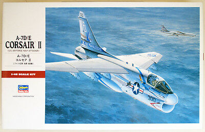 Hasegawa PT47 A-7D/E CORSAIR II (US Air Force Navy Attacker) 1/48 scale kit