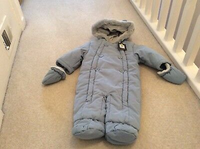 John Lewis Baby Boy Snow Suit Size 3/6 Months RP £28