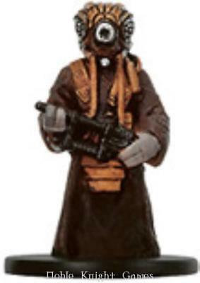 WOTC Star Wars Minis Bounty Hunter Zuckuss NM