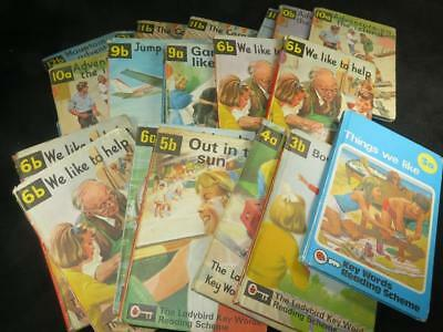 COLLECTABLE LADYBIRD BOOK Key Words Reading Scheme 1960s/70s Selection