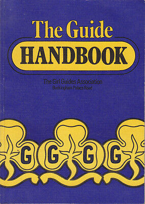 GIRL GUIDES The Guide Handbook 1990 Edition