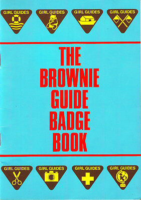 BROWNIE GUIDES The Brownie Guide Badge Book 1987 Edition with SUPPLEMENT