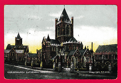 Dated 1904. Christchurch Cathedral, Dublin, Ireland