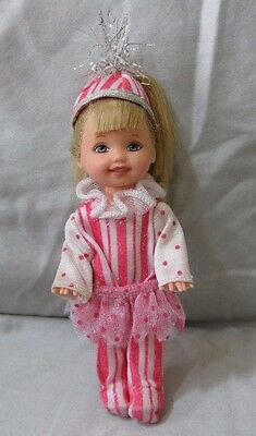 Barbie in The Nutcracker - Kelly as Peppermint Girl Doll EUC Complete Outfit