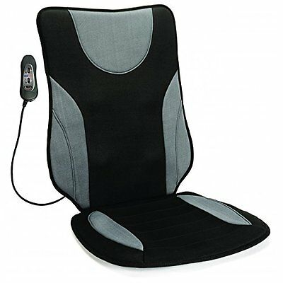 HoMedics 3-in-1 Automotive Massage & Heat Cushion with Gel Comfort Seat