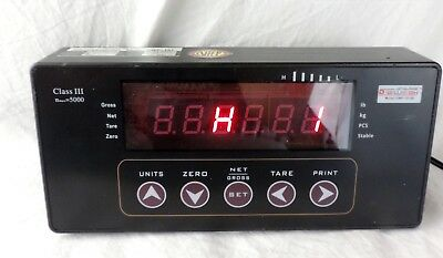 Digiweigh DWP-101B Digital LED Weight Indicator Readout NTEP for Floor Scale