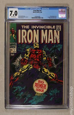 Iron Man (1968 1st Series) #1 CGC 7.0 0294444008