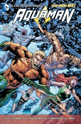 Aquaman Volume 4: Death of a King TP (The New 52) (Paperback), Jo. 9781401249953