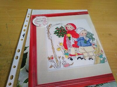 Cross Stitch Chart Christmas Childhood Memories Chart Only Mabel Lucie Attwell
