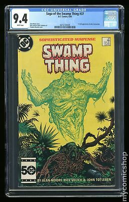 Swamp Thing (1982 2nd Series) #37 CGC 9.4 0616130008